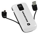 Brunton Metal 4400-white Battery Pack