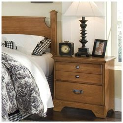 Carolina Furniture 382200 Creek Side Two Drawer Night Stand