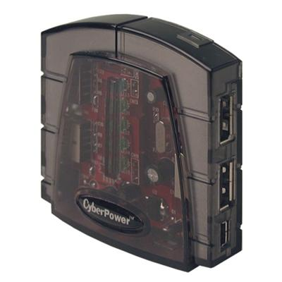 CP-H420P - hub - 4 ports - desktop