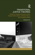 Transitional Justice Theories is the first volume to approach the politically sensitive subject of post-conflict or post-authoritarian justice from a theoretical perspective