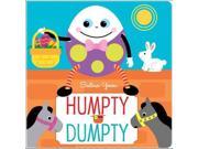Humpty Dumpty Publisher: Simon & Schuster Merchandise & Publish Date: 1/24/2012 Language: ENGLISH Weight: 1.54 ISBN-13: 9781442414112 Dewey: 398.8