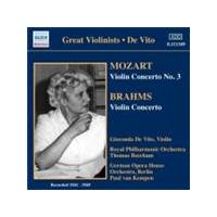 Mozart; Brahms: Violin Concertos (Music CD)