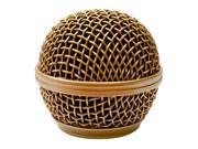 Seismic Audio - SA-M30Grille-Gold - Replacement Gold Steel Mesh Microphone Grill Head - Compatible with SA-M30, Shure SM58, Shure SV100 and Similar Weight: 0.09