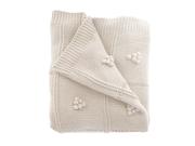 Sydney Cream Knit Throw