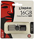 Kingston DataTraveler 101 Gen2 with urDrive 16 GB USB 2.0 (Black)