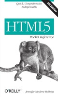 Html5 Pocket Reference