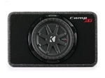 Kicker 40tcwrt104 Truck Enclosure With Single Comprt Subwoofer