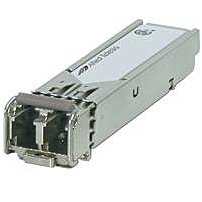 The Allied Telesis AT SPFXBD LC 13 is a 3.3V SFP BiDi transceiver module designed for high speed applications which require up to 155 Mbit sec transmission rates