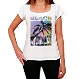 Gallipoli, Beach Name Palm, tshirt women, beach tshirts, gift tshirt
