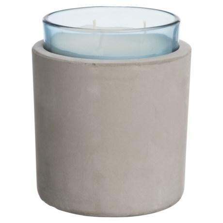 Melange Tea Leaf And Lavender Candle - 3-wick, Soy Wax, 16 Oz.