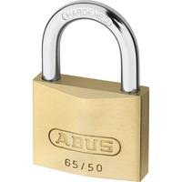 Abus 50mm 65 Series Compact Brass Padlock Keyed Alike To Suite 6512