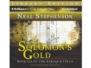 Solomon's Gold: Library Edition (the Baroque Cycle)