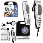"""""""Wahl Pet-Pro Combo Kit (9284) Brand New Includes One Year Warranty, The Wahl-Animal 9284 deluxe series 17-piece pet pro combo kit with a trimmer that cuts the thickest hair with 30 more power"""