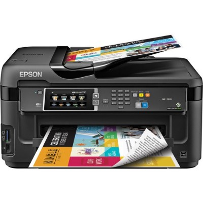 Epson C11cc98201 Workforce Wf-7610 - Multifunction Printer - Color - Ink-jet - Super B (13 In X 19 In) (media) - Up To 16 Ppm (copying) - Up To 18 Ppm (printing