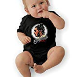 Infant Jersey Bodysuits Post Malone Newborn Babys 0-24M Organic Cotton Trottie Outfit Black