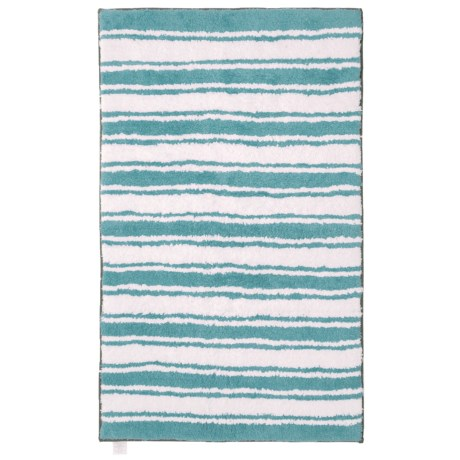 Reversible Striped Bath Rug - 27x45?