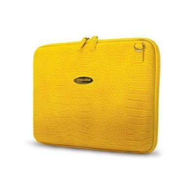 Faux-Croc Techstyle Portfolio - notebook carrying case