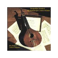 Pasqualini Demarzi - Six Sonatas For Cetra Or Kitara (Rossi, Damiani)
