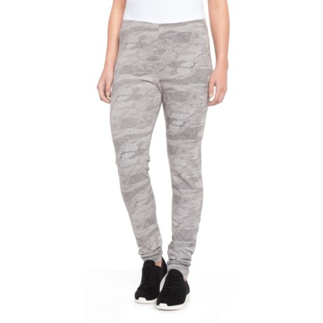 Sporty Grey Bolton Camo Leggings (for Women)