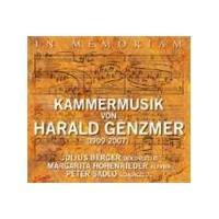 In Memoriam - Chamber Works of Genzmer