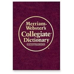 Merriam-Webster 10th Annual Collegiate Dictionary Eleventh EditionDictionary Printed/Electronic Book - CD - 1664 Pages