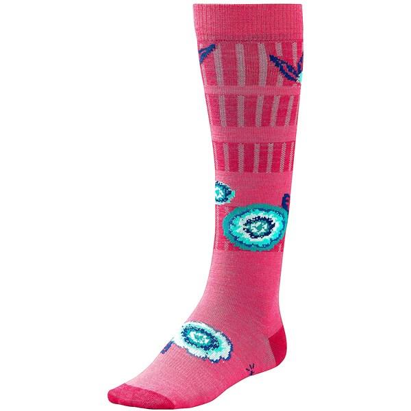 Smartwool Dappled Flower Socks - Merino Wool, Lightweight (for Little And Big Girls)