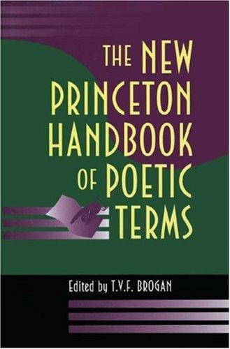 The New Princeton Handbook of Poetic Terms