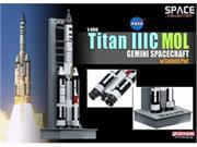 1/400 Titan IIIC MOL Gemini Spacecraft w/Launch Pad (Space)