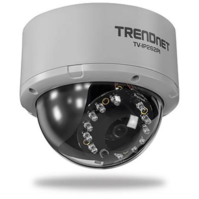 Trendnet Tv-ip262pi Tv Ip262pi Megapixel Poe Day / Night Dome Internet Camera - Network Surveillance Camera - Color ( Day&night ) - 1 Mp - 1280 X 1024 - Audio -