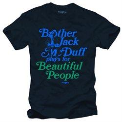 Brother Jack McDuff Beautiful People Jazz Blues T-Shirt, Navy M