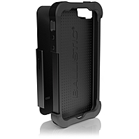 Ballistic Iphone 5 Shell Gel Sg Series Case - Iphone - Black - Polymer, Polycarbonate, Silicone Sg0926-m005