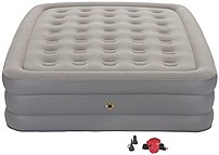 Make it easy on yourself to offer guests a good night sleep with the Coleman 076501137170 Guest Rest Plus Double High Airbed