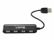 Syba Cl-u2mnhub-4b 4 Ports Usb V2.0 Black Mini Hub
