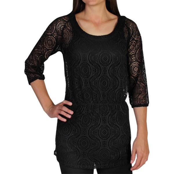 ExOfficio Jacquardia Tunic Shirt - 3/4 Sleeve (For Women)