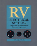 """This problem-solving reference answers questions such as, """"Why do interior lights dim or burn out rapidly"""" and """"Why won't the batteries recharge after a night without electricity?"""