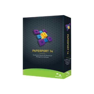 Nuance Communications 6809a-g00-14.0 Paperport - ( V. 14 ) - Box Pack - 1 User - Dvd - Win - English - United States