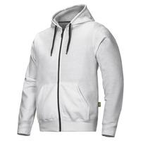 "Snickers Mens Classic Zip Hoodie Grey 55"" Chest 3XL"