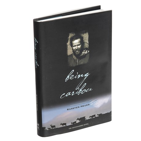 Being Caribou Book - Hardcover