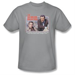 Mens SIX MILLION DOLLAR MAN Short Sleeve THE FIRST Medium T-Shirt Tee