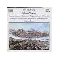 Wolfgang Amadeus Mozart - Solemn Vespers (Music CD)