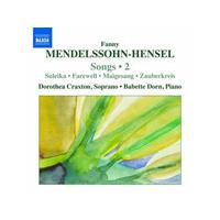 Mendelssohn-Hensel: Songs, Vol. 2 (Music CD)
