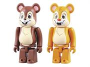 Disney Chip and Dale Bearbrick 2-Pack Figures