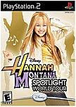 Disney Interactive Hannah Montana: Spotlight World Tour - Entertainment Game - Playstation 2 712725003920