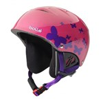Bolle B-kid Shiny Pink Butterfly 53-58cm Ski Helmet