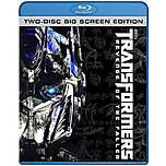 Paramount 032429075147 Transformers: Revenge Of The Fallen - Two-disc Big Screen Edition - Blu-ray