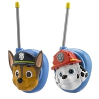 Ekids Pw-202ch.ex Paw Patrol Chase And Marshall Character Walkie Talkie