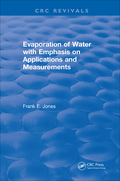 Evaporation Of Water With Emphasis On Applications And Measurements