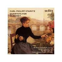 Carl Philipp Stamitz: Quartets for Clarinet [SACD] (Music CD)