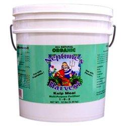Neptune's Harvest NEH-KM612 Neptunes Harvest Organic Kelp Meal Multi-Purpose Fertilizer 1-0-2 12 pound pail