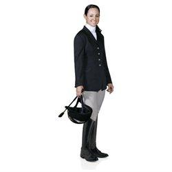 Ovation Ladies Performance Show Coat - Size:16 Long Color:Navy